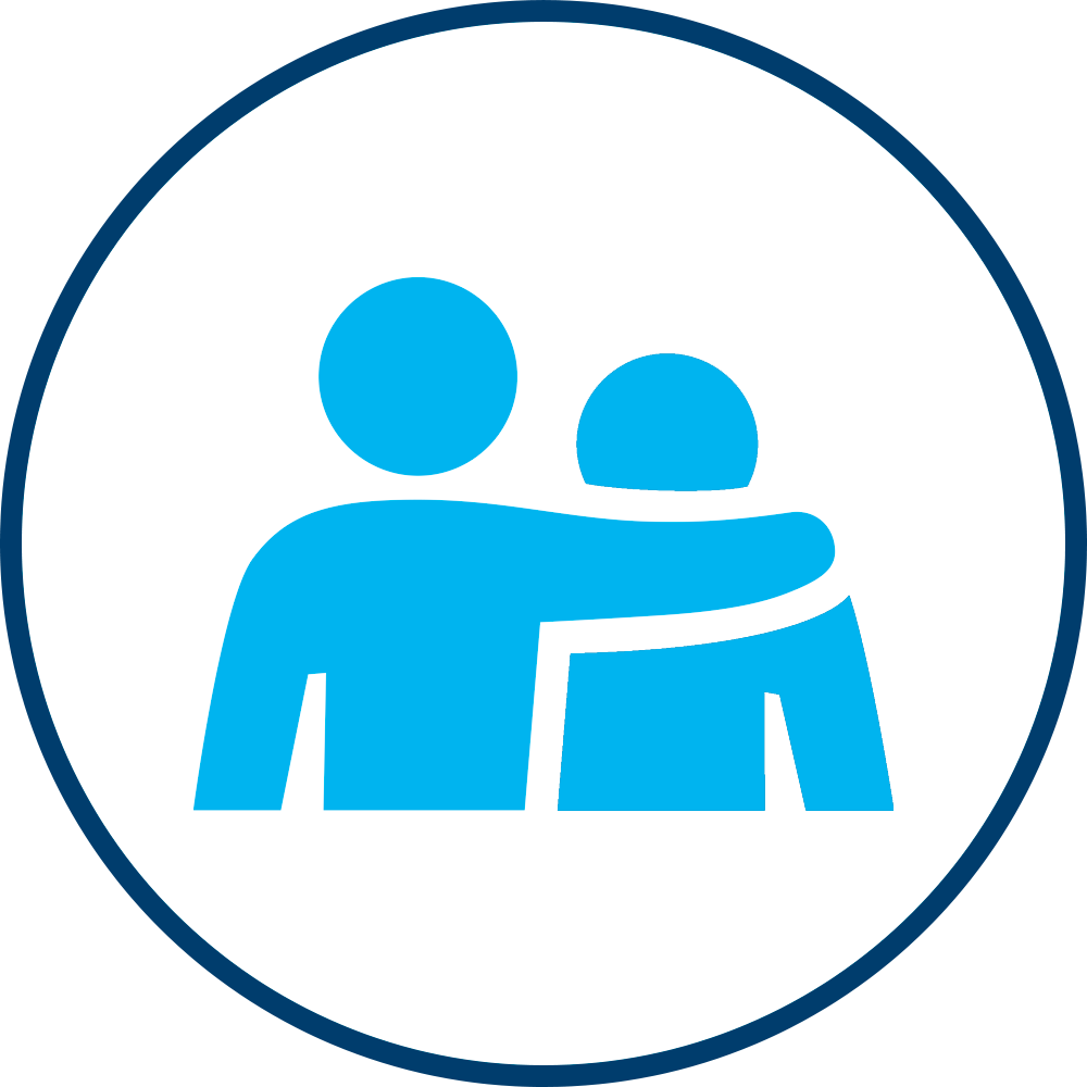 Aqua Home Care Icon for Companion Care and care providers, Call for a Free Consultation, or read our Health Care Blog