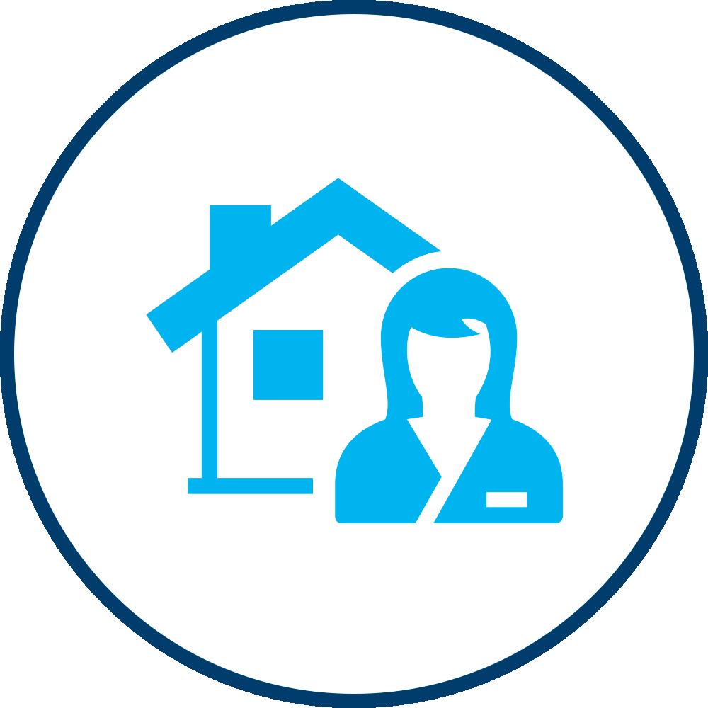 Aqua Home Care Icon for Live-In & 24 Hour Care