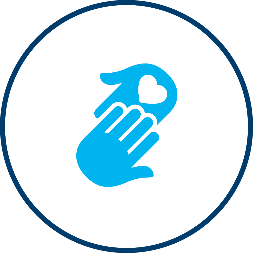 Aqua Home Care Icon for Personal Care / ADL's